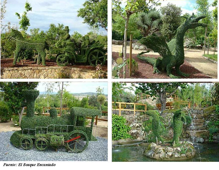 El bosque encantado nico en europa muraltosuites for Jardin botanico el bosque encantado